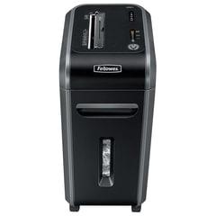 Уничтожитель (шредер) FELLOWES 90S, для 3-5 человек, 2 уровень секретности, 5,8 мм, 18 листов, 34 л, скобы, скрепки, CD
