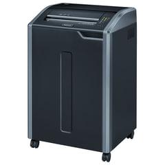Уничтожитель (шредер) FELLOWES 485I, для 20 человек, 2 уровень секретности, 5,8 мм, 40 листов, 142 л, скобы, скрепки, CD
