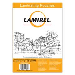 Пленки-заготовки для ламинирования LAMIREL, комплект 100 шт., формат А4, 100 мкм