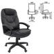 """Кресло офисное BRABIX """"Trend EX-568"""", экокожа, черное, 531395"""