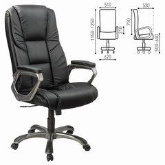 """Кресло офисное BRABIX """"Titan EX-579"""", экокожа, черное"""