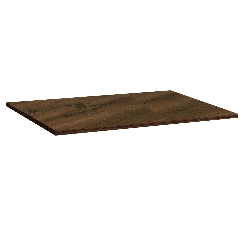 Столешница к столу для столовых 1200х800 мм, Corund 2023, ОСОБО ПРОЧНЫЙ ПЛАСТИК, орех американский