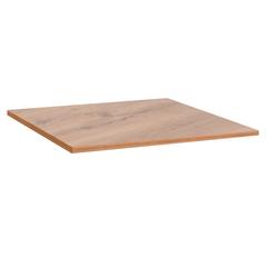 Столешница к столу для столовых 800х800 мм, Corund 1023, ОСОБО ПРОЧНЫЙ ПЛАСТИК, дуб горный