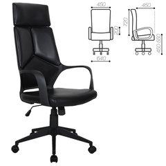 """Кресло офисное BRABIX PREMIUM """"Prime EX-515"""", экокожа, черное"""