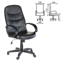 """Кресло офисное """"Канц"""", экокожа, черное"""