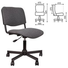 Кресло КР09, без подлокотников, серое