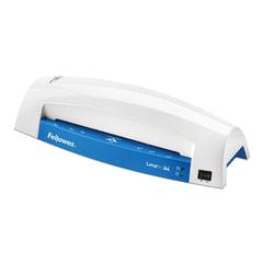 Ламинатор FELLOWES LUNAR+, формат A4, толщина пленки (1 сторона) 75-125 мкм, скорость 30 см/мин, синий