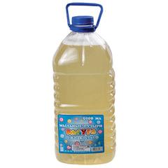 Мыльные пузыри РАДУГА, 5 л, жидкость в бутылке, без формы для выдувания пузырей, Россия
