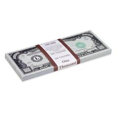 """Деньги шуточные """"1000 долларов"""", европодвес"""
