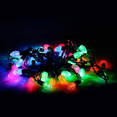 """Электрогирлянда светодиодная """"ШИШКИ"""", 40 ламп, 5 м, многоцветная"""
