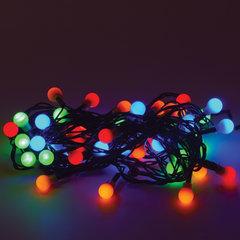 """Электрогирлянда светодиодная ЗОЛОТАЯ СКАЗКА """"Шарики"""", 50 ламп, 5 м, многоцветная, контроллер"""