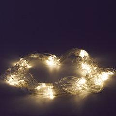 """Электрогирлянда светодиодная ЗОЛОТАЯ СКАЗКА """"Сеть"""", 120 ламп, 1,5х1 м, теплый белый, контроллер"""