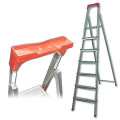 """Лестница-стремянка """"UFUK"""", 155 см, 7 ступеней, стальная, облегченная, вес 10 кг"""
