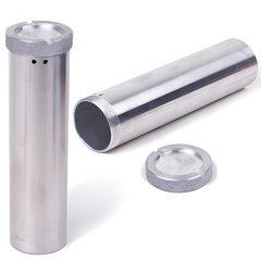 Пенал для хранения ключей дюралевый, длина 150 мм, диаметр 40 мм