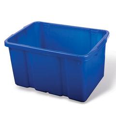 Ящик для хранения штабелируемый, 60 л, 60х40х34 см, цвет синий