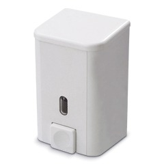 Диспенсер для жидкого мыла PRIMA NOVA, НАЛИВНОЙ, белый, 0,5 л, SD01, ш/к 01001