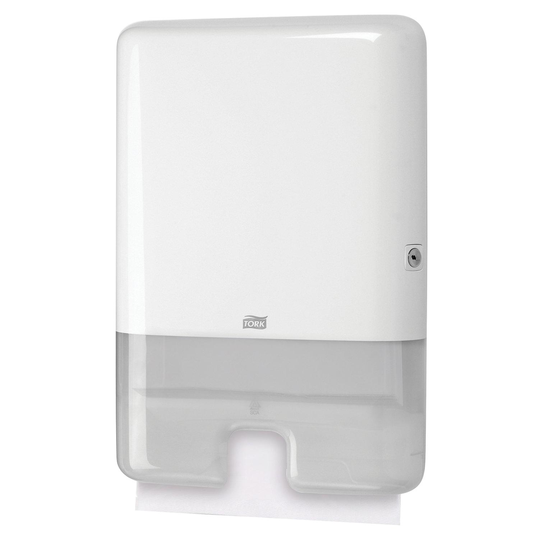 Диспенсер для полотенец TORK (Система H2) Xpress, Multifold, белый, 552000