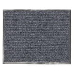 Коврик входной ворсовый влаго-грязезащитный VORTEX, 120х150 см, толщина 7 мм, серый