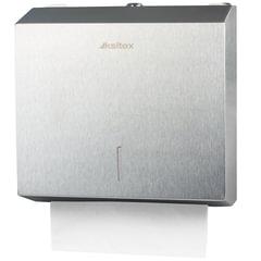 Диспенсер для полотенец KSITEX (Система H3), ZZ (V), нержавеющая сталь, матовый