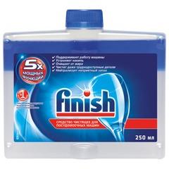 Средство для мытья посуды в посудомоечных машинах 250 мл, FINISH (Финиш), очистититель для ПММ