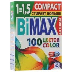 """Стиральный порошок-автомат 400 г, BIMAX (Бимакс) """"Color"""""""