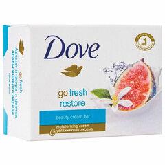 """Мыло-крем туалетное 135 г, DOVE """"Инжир и лепестки апельсина"""""""