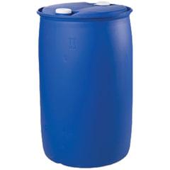 Бочка 227 л, L-Ring Plus, полиэтилен (ПЭНД), 2 герметичные крышки, диаметр 60 мм, для пищевых и химических продуктов