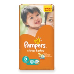 "Подгузники 58 шт., PAMPERS (Памперс) ""Sleep&Play"", размер 5 (11-18 кг)"