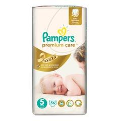 "Подгузники 56 шт., PAMPERS (Памперс) ""Premium Care"", размер 5 (11-25 кг)"