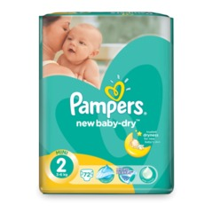 "Подгузники 72 шт., PAMPERS (Памперс) ""Active Baby"", размер 2 (3-6 кг)"