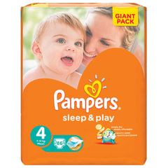 "Подгузники 86 шт., PAMPERS (Памперс) ""Sleep&Play"", размер 4 (7-14 кг)"