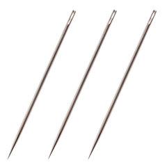 Иглы для прошивки документов (цыганские), КОМПЛЕКТ 3 шт., длина 80 мм, диаметр 1,8 мм, блистер, STAFF, 602464