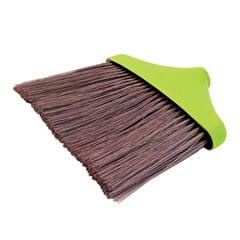 """Щетка для уборки """"Мега"""", ширина 25 см, высота щетины 22 см, салатовая (черенок 601322, -831), IDEA"""