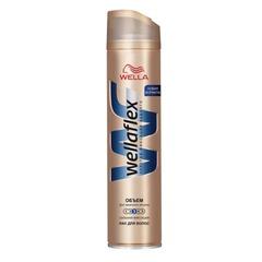 """Лак для волос 250 мл, WELLAFLEX (Веллафлекс) """"Объем до 2-х дней"""", сильная фиксация"""