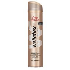 """Лак для волос 250 мл, WELLAFLEX (Веллафлекс) """"Сильная фиксация"""", без запаха"""
