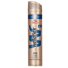 """Лак для волос 400 мл, WELLAFLEX (Веллафлекс) """"Объем до 2-х дней"""", экстрасильная фиксация"""