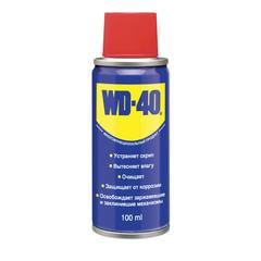 Средство WD-40 универсальное, 100 мл, для тысячи применений в офисе, быту, производстве