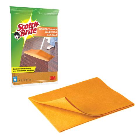 Тряпка для мытья полов SCOTCH-BRITE, вискоза, 50х60 см