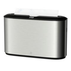 Диспенсер для полотенец TORK (Система H2) Image Design, Multifold, настольный, металлический, 460005