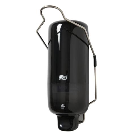 Диспенсер для жидкого мыла TORK (Система S1) Elevation, 1 л, с локтевым приводом, черный, 560108