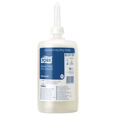 Картридж с жидким мылом-спреем одноразовый TORK (Система S11), ультрамягкое, 1 л, 620701