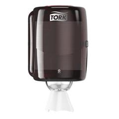 Диспенсер для полотенец TORK TORK (Система M2) Performance, с центральной вытяжкой, черный, 659008