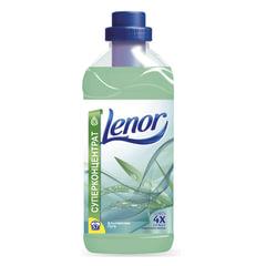 """Кондиционер-ополаскиватель для белья 2 л, LENOR (Ленор) """"Альпийские луга"""", концентрат"""