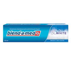 """Зубная паста, 100 мл, BLEND-A-MED (Бленд-а-Мед) 3D White """"Medic Delicate"""""""