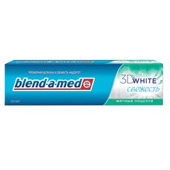 """Зубная паста, 100 мл, BLEND-A-MED (Бленд-а-Мед) 3D White """"Мятный Поцелуй"""""""