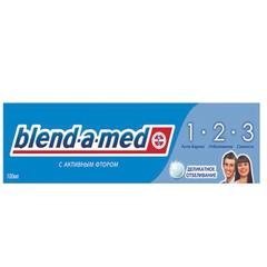 """Зубная паста, 100 мл, BLEND-A-MED (Бленд-а-Мед) 3-Эффект """"Деликатное отбеливание"""""""