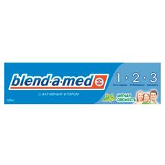 """Зубная паста, 100 мл, BLEND-A-MED (Бленд-а-Мед) 3-Эффект """"Мягкая Свежесть"""""""