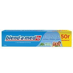 """Зубная паста, 150 мл, BLEND-A-MED (Бленд-а-Мед) 3-Эффект """"Мягкая Свежесть"""""""