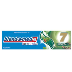 """Зубная паста, 100 мл, BLEND-A-MED (Бленд-а-Мед) Complete 7 """"Кора Дуба"""""""