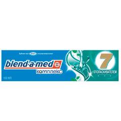 "Зубная паста, 100 мл, BLEND-A-MED (Бленд-а-Мед) Complete 7 ""С ополаскивателем"""